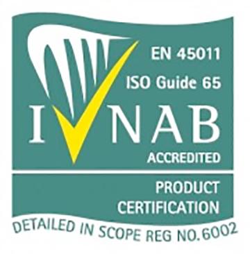 INAB ISO 65 Accredited